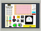 "effectiVieweV121-TNT 12.1"" TFT color display HMI touch panel"